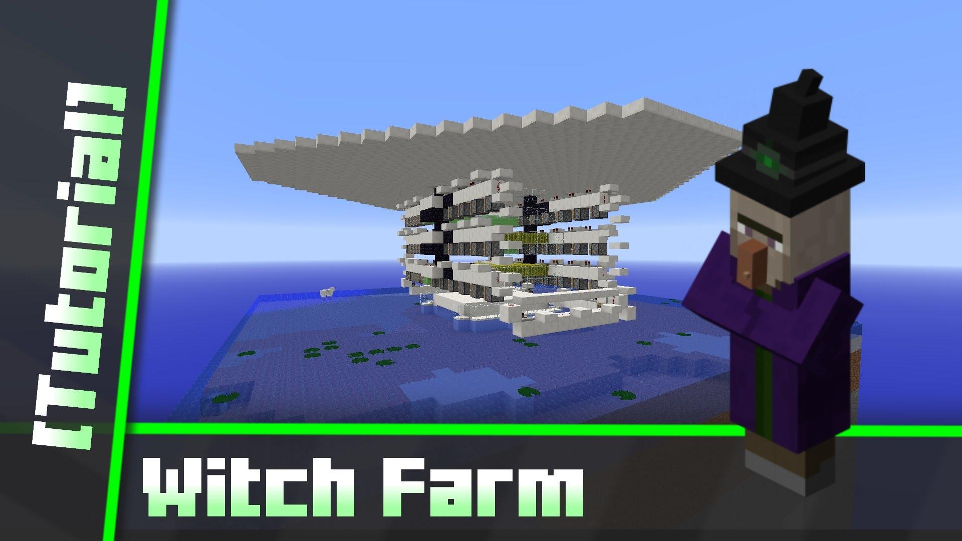 Minecraft - Witch farma nejlepší witch [3]